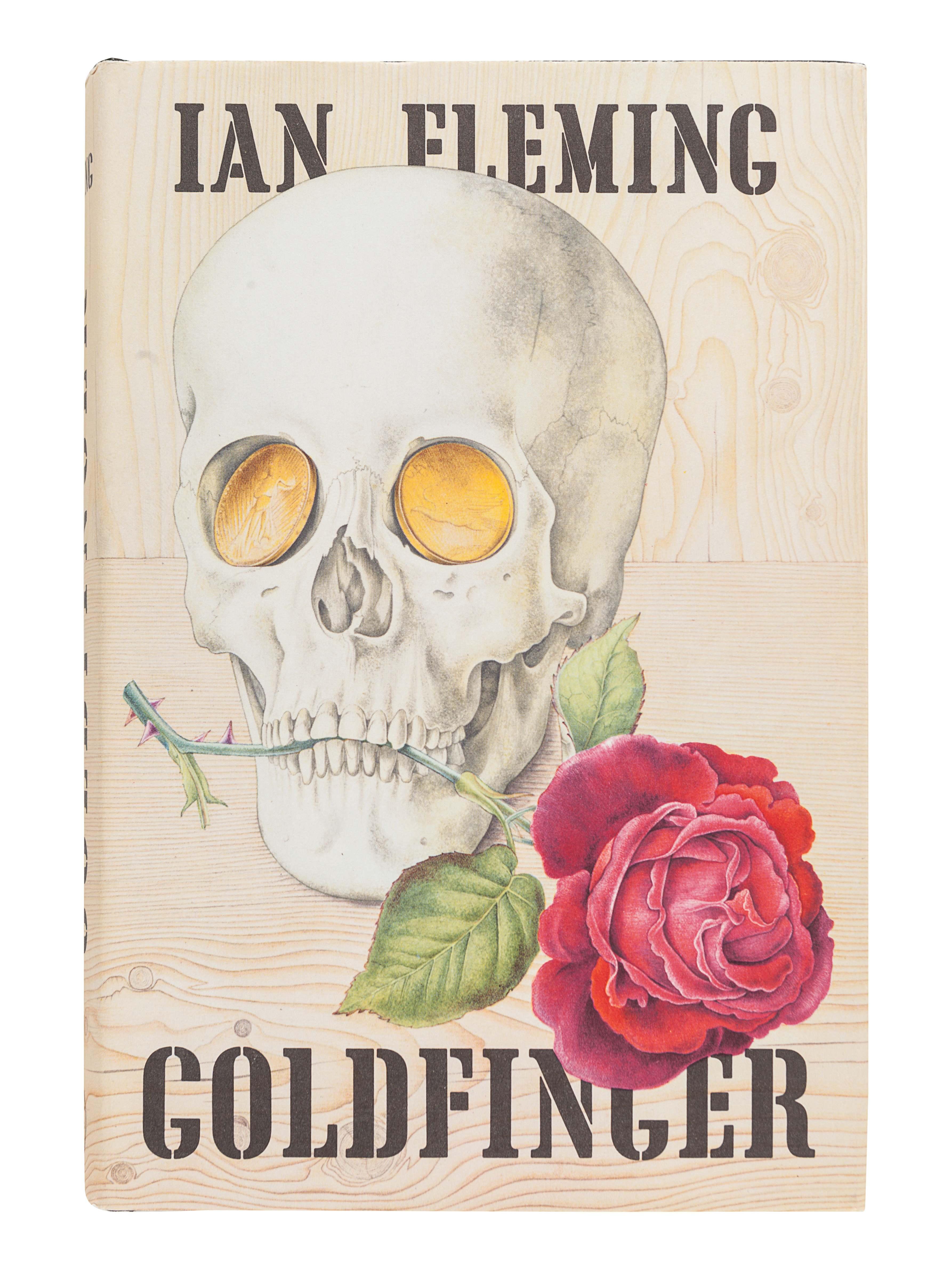 FLEMING, Ian (1908-1964). Goldfinger. London: Jonathan Cape, 1959. - Image 2 of 3