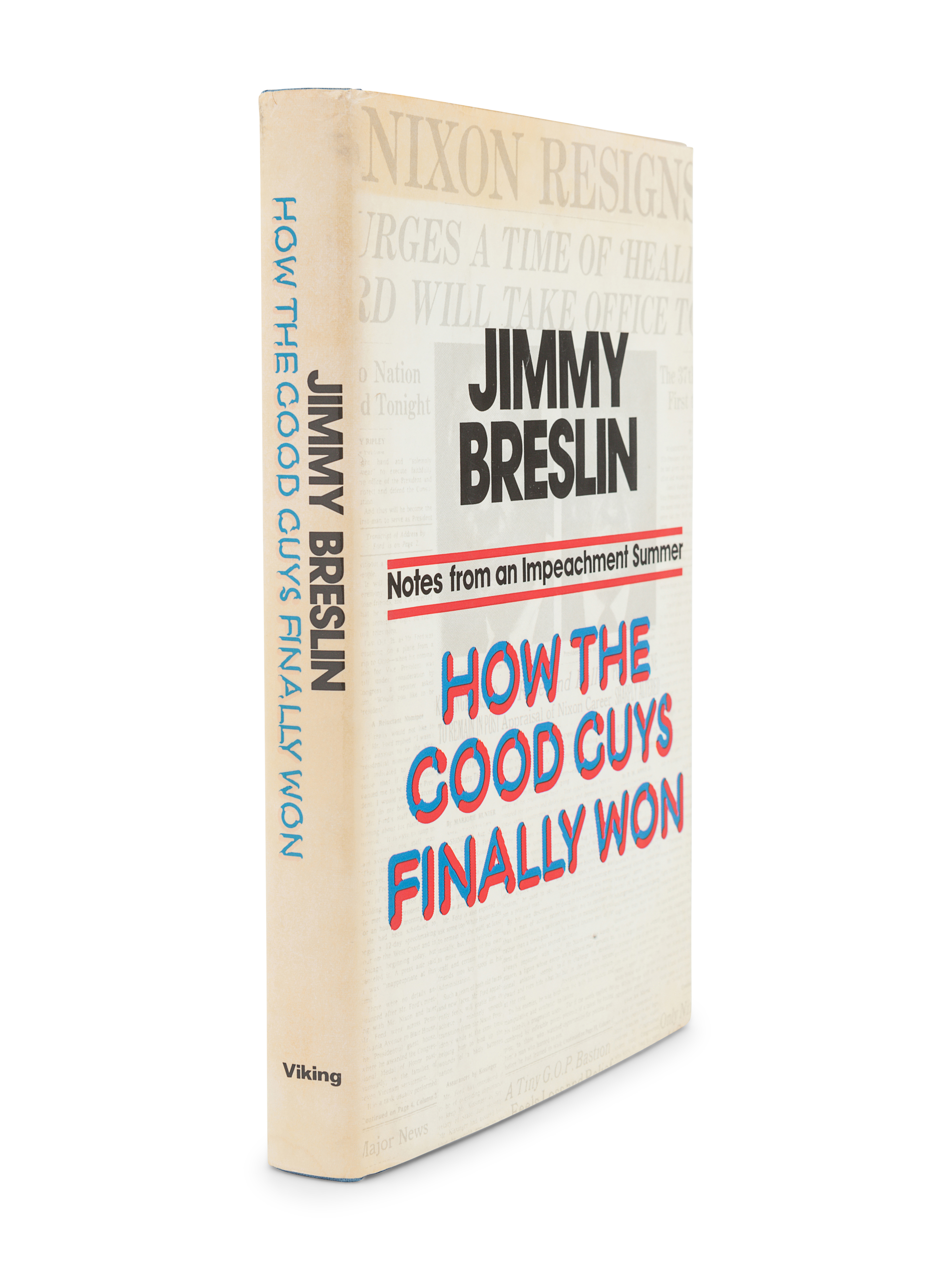 [BRESLIN, Jimmy (1928-2017)]. A group of 4 FIRST EDITIONS by Breslin, comprising: - Image 5 of 9