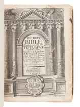 [BIBLE, in English]. The Holy Bible Containing the Old Testament and the New. -- Index Biblicus: or