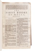 """[BIBLE, in English]. The Holy Bible, Conteyning the Old Testament, and the New""""¦ London: Robert Bark"""