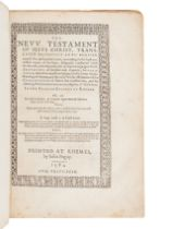 [BIBLE, in English]. The New Testament of Jesus Christ, translated faithfully into English. Translat