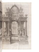[BIBLE, Polyglot]. Biblia sacra polyglotta. Edited by Brian Walton. London: Thomas Roycroft, 1655-57