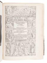 [BIBLES - LONDON IMPRINTS]. A group of 3 Bibles, comprising: