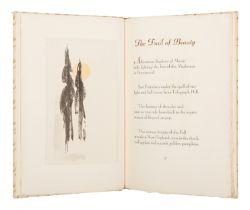 [ALLEN PRESS]. ALLEN, Harris Stearns. The Trail of Beauty. San Francisco: Allen Press, 1940.