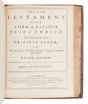 [BIBLE, in English]. The Holy Bible, containing the Old and New Testaments. Cambridge: John Archdeac