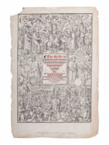 [BIBLE LEAVES - ENGLISH - 16TH CENTURY]. A group of 9 Bible leaves in English, comprising: