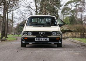 1984 Alfa Romeo Alfasud