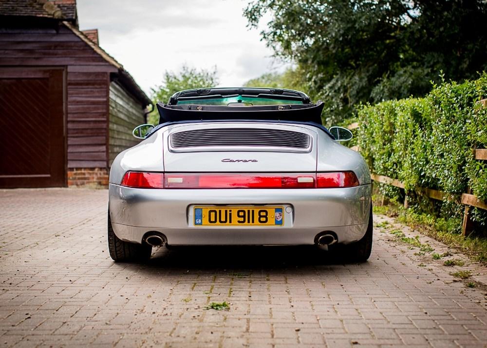 1995 Porsche 911 / 993 Carrera Convertible - Image 2 of 9