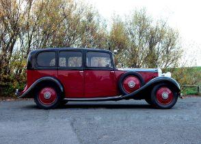 1935 Rolls-Royce 20/25 by Hooper