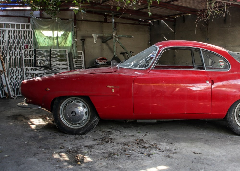 1960 Alfa Romeo Giulietta Sprint Speciale by Bertone - Image 3 of 9