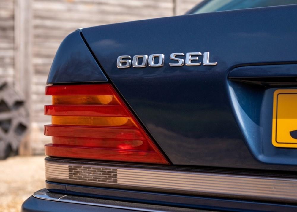1992 Mercedes-Benz 600 SEL - Image 3 of 9