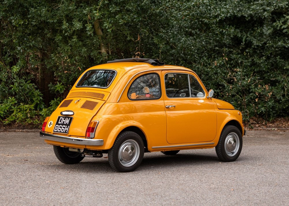 1970 Fiat 500L - Image 6 of 9