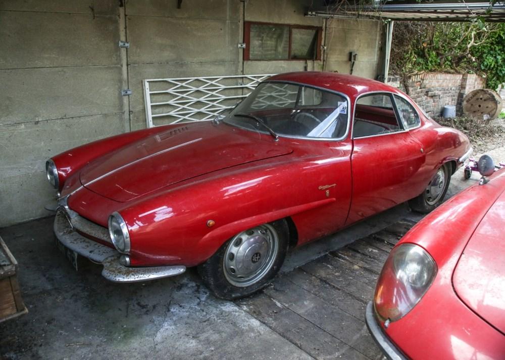 1960 Alfa Romeo Giulietta Sprint Speciale by Bertone