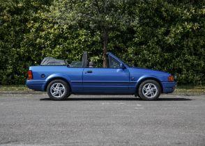 1989 Ford Escort Cabriolet