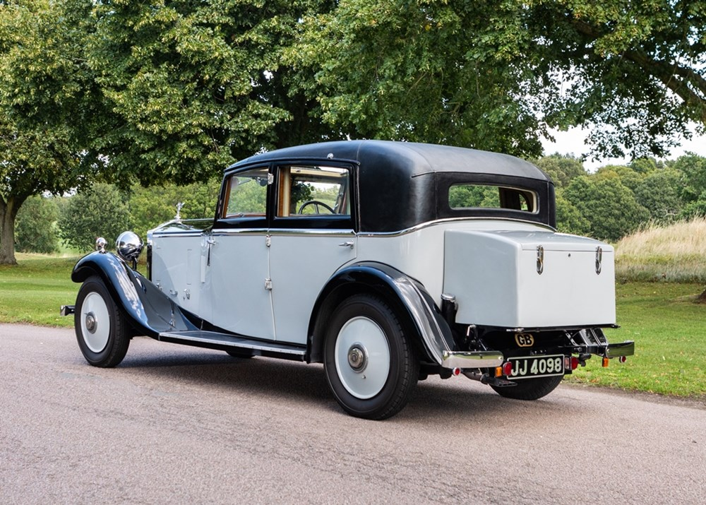 1933 Rolls-Royce 20/25 Saloon by Lancefield - Image 4 of 9