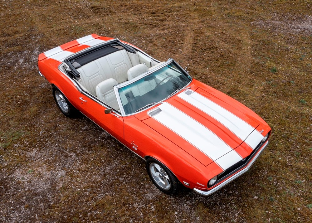 1968 Chevrolet Camaro SS Convertible - Image 9 of 9