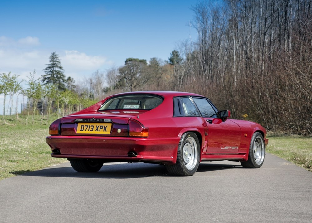 1986 Lister Coupé (Jaguar XJ-S) 'Chassis 001' Press Car - Image 3 of 9