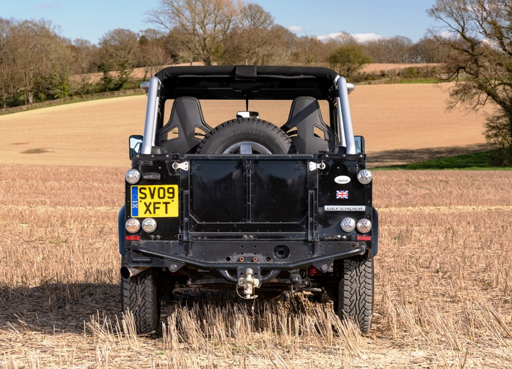 2009 Land Rover Defender SVX 60th Anniversary Limited Edition - Image 4 of 9