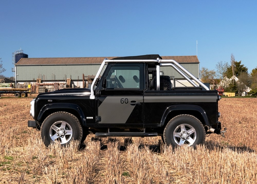 2009 Land Rover Defender SVX 60th Anniversary Limited Edition