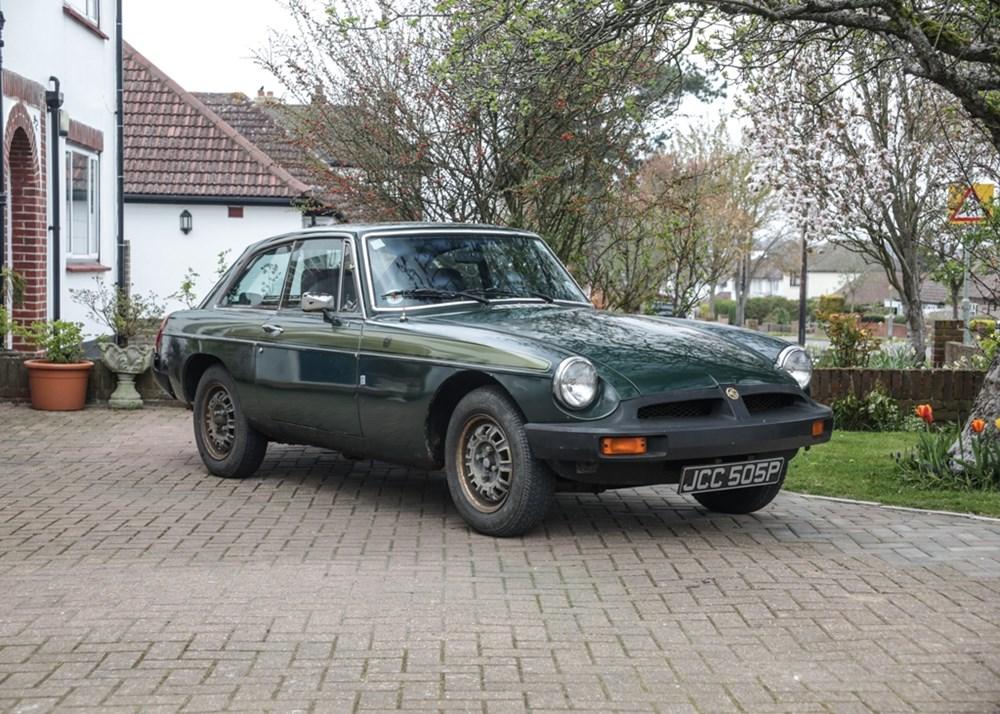 1975 MG B GT Jubilee Model