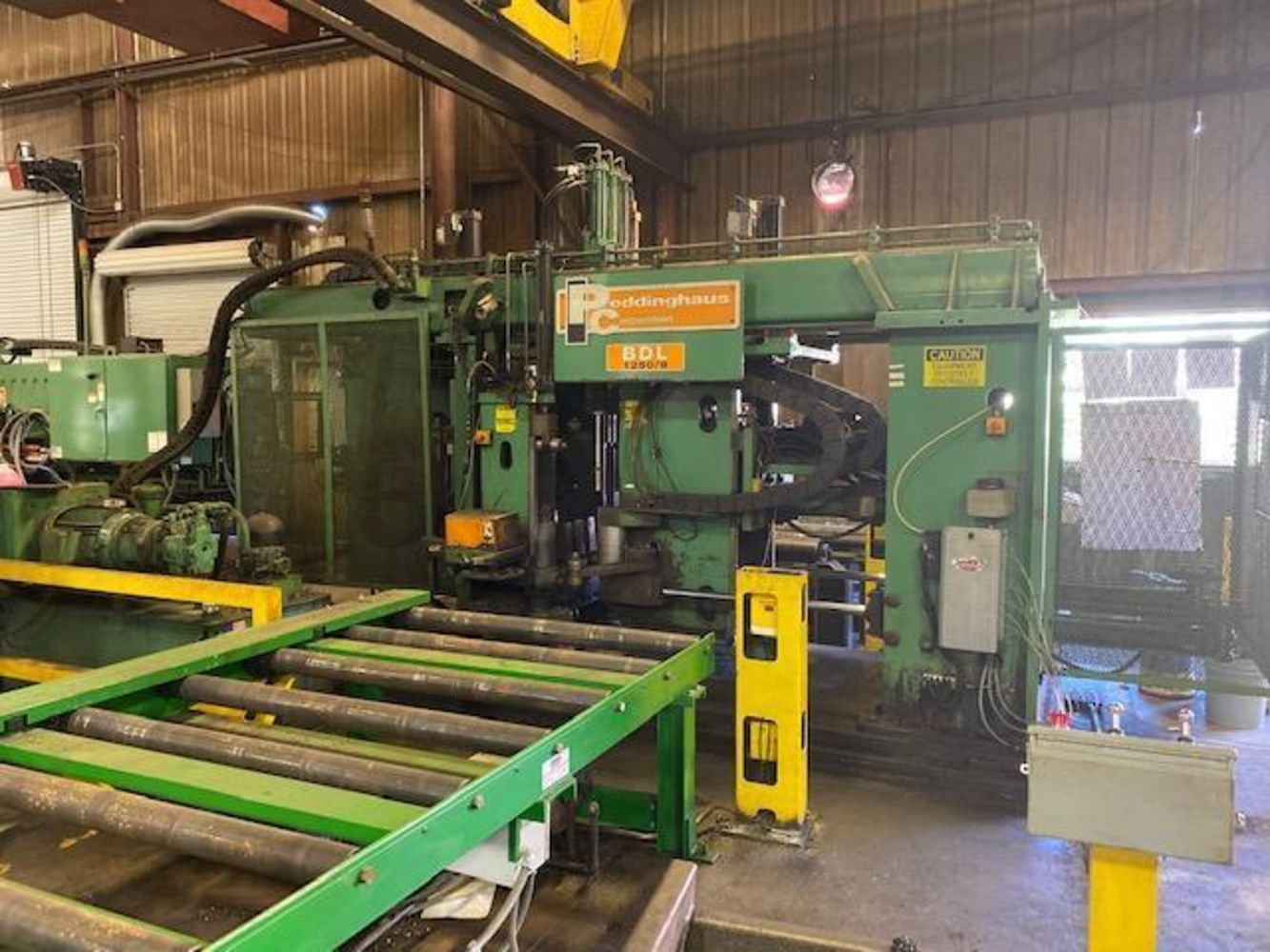 Asset No Longer Required Of The Ongoing Operation Of Cives Steel Company – Peddinghaus Beam Drill Line For Sale