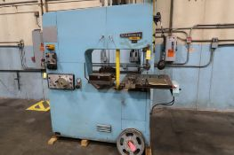 Startrite Model 316H, Vertical Band Saw