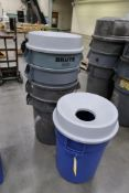 Rubbermaid Heavy Duty Trash Cans