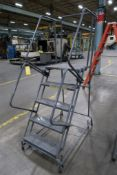 Ballymore 5-Step Safety Rolling Ladder