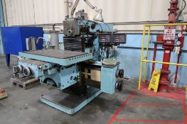 Maho Model MH1000, Horizontal Milling Machine
