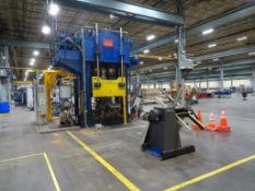 BMD Hydraulic Press 1500 Ton w/ Wickert Controller
