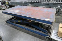 Trans Lyft Model 24206, Electric/Hydraulic Lift Table