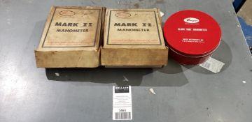 Dwyer Mark II Slack Tube Manometers