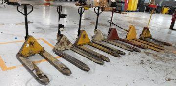 (7)Scrap/Parts Pallet Jacks