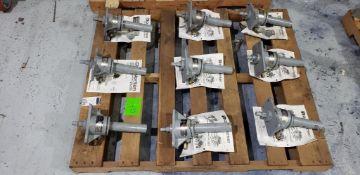 (9pcs) Duff Norton Mdl# M5801-299 Anti Backlash Mechanical Actuators