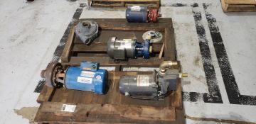 (4pcs) Motors W/ Pumps