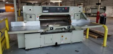 Saber Guillotine Paper Cutter Model S-137