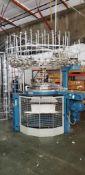"""Orizio Knitting Machine, Model JSVR 26"""" 18 cut"""