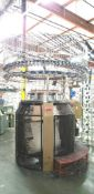 "Vanguard Knitting Machine, Model 4SFT/3I 30""14 cut"