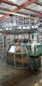 "Monarch Knitting Machine, Model FXC-3S 30"" 20 cut"