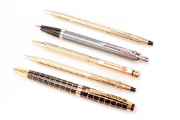 A GROUP OF FIVE ASSORTED BALLPOINT PENS