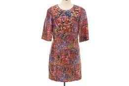 A PHILLIP LIM MULTICOLOURED EMBELLISHED DRESS