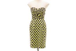 A DKNY STRAPLESS DRESS
