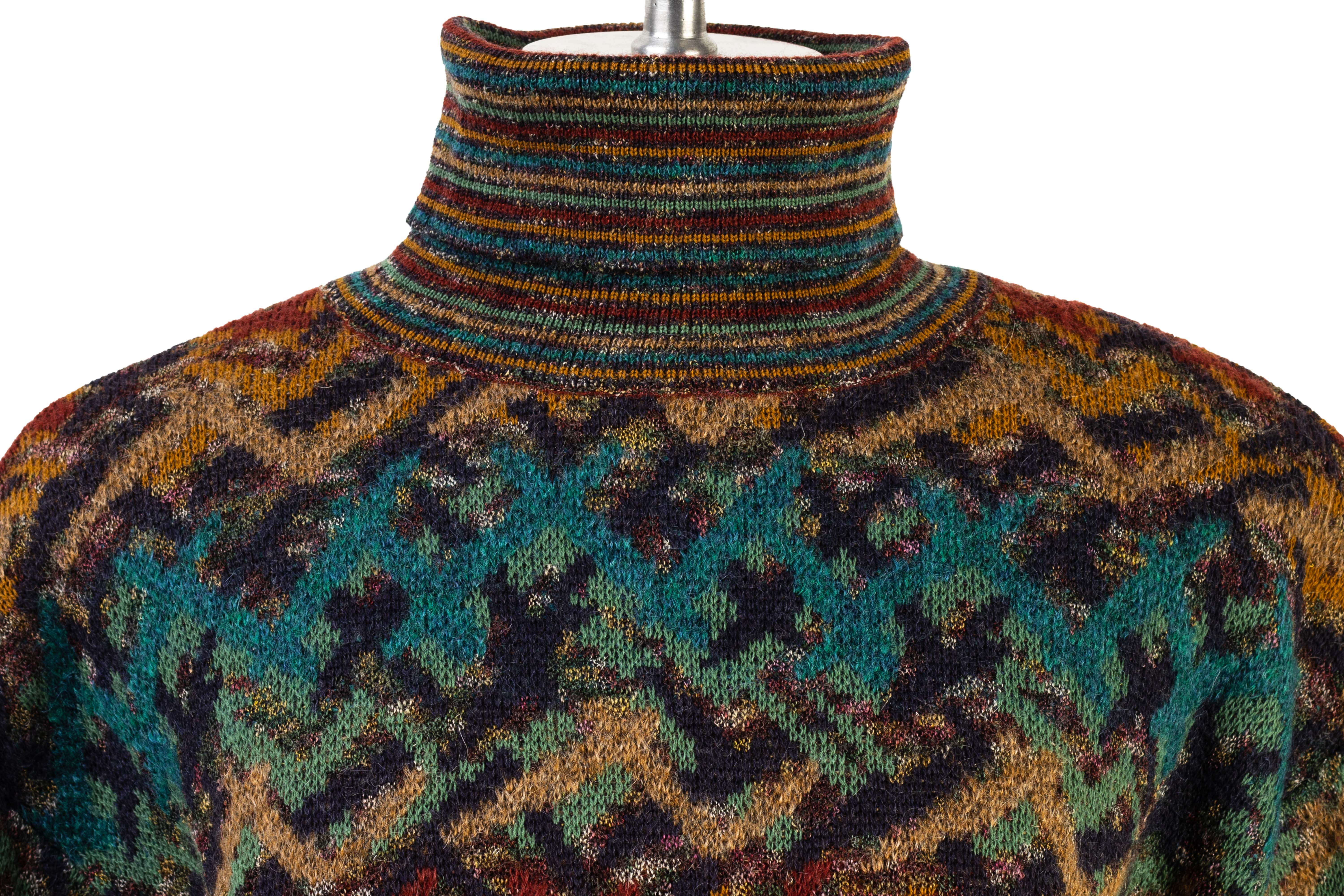 A MISSONI SPORT KNITTED ROLLNECK SWEATER - Image 2 of 4