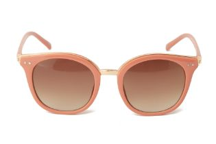 A PAIR OF POWDER PALE PINK SUNGLASSES