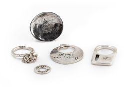 A GROUP OF SONJA PICARD JEWELLERY