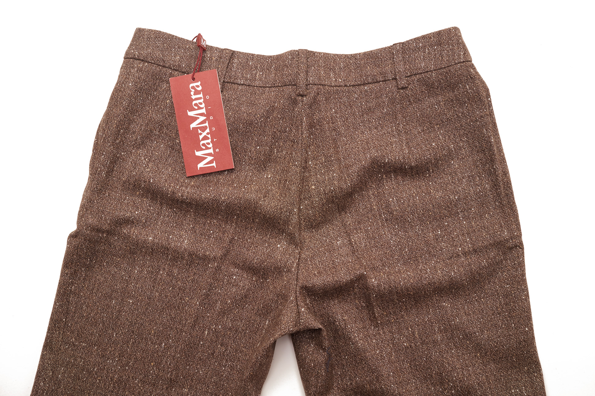 A PAIR OF MAXMARA WOOL TROUSERS - Image 2 of 2