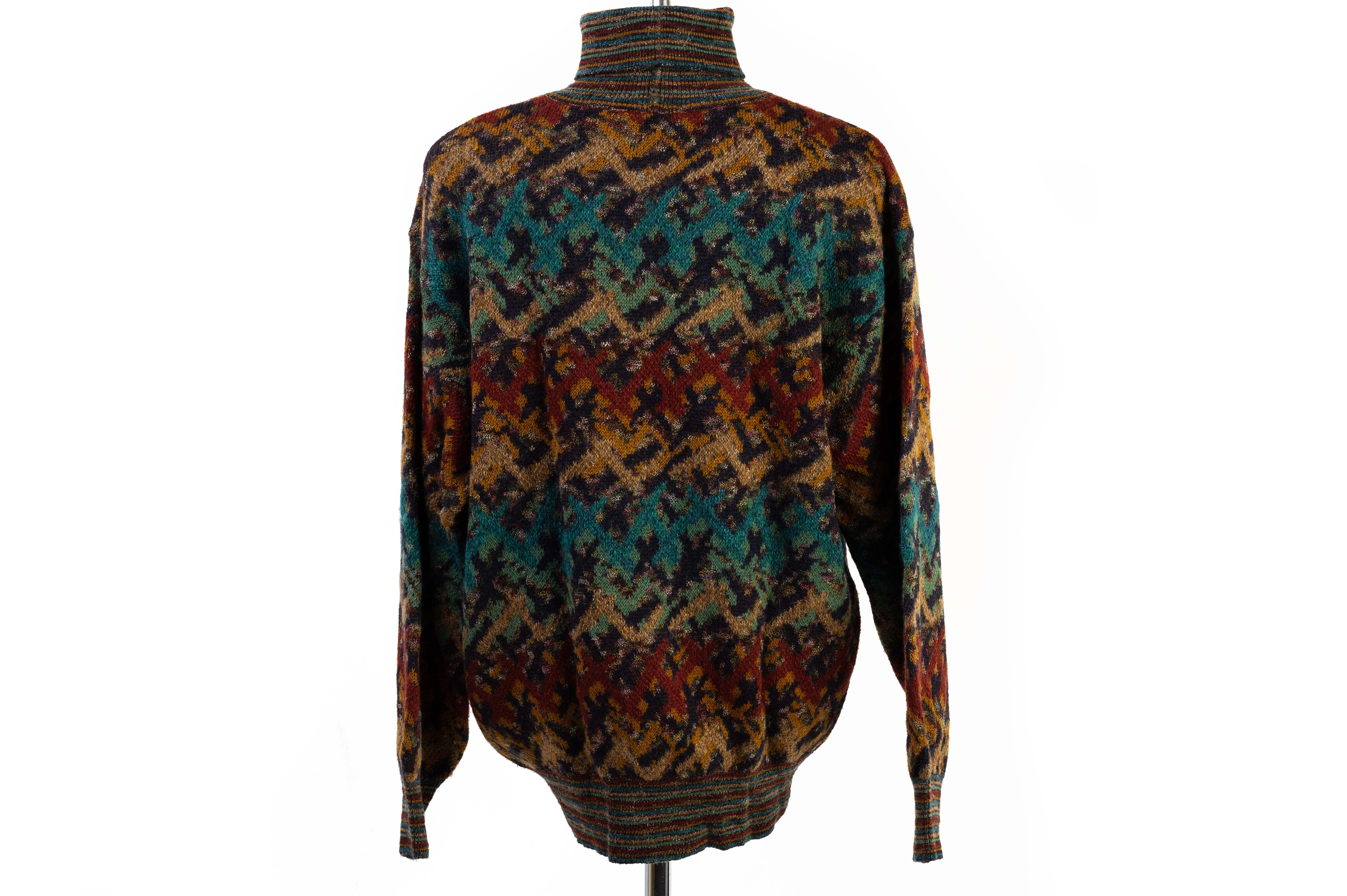 A MISSONI SPORT KNITTED ROLLNECK SWEATER - Image 3 of 4