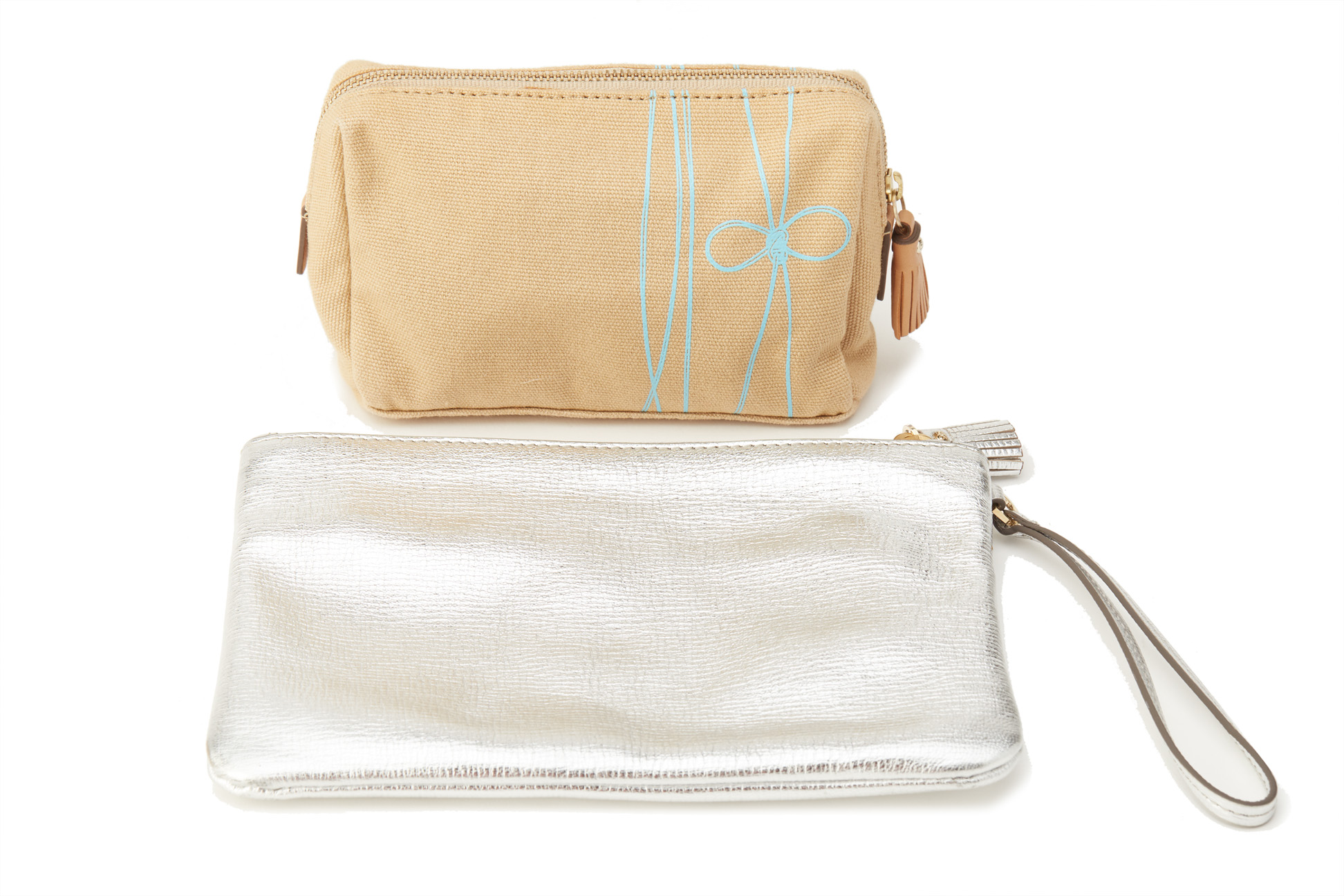TWO ANYA HINDMARCH POUCHES - Image 2 of 2