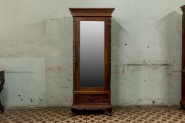 A SINGLE DOOR WARDROBE