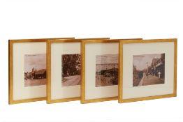FOUR PHOTOS OF EARLY 20TH CENTURY SINGAPORE